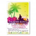 affiche dare hawai 2011